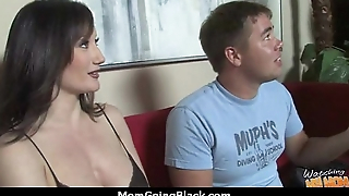 hot milf old lady make a blowjob and ride a big black cock interracial 10