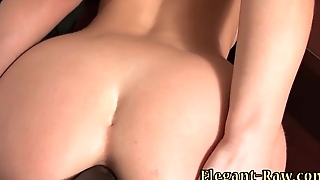 Euroslut spunked on